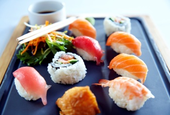 Sushi from Sirocco
