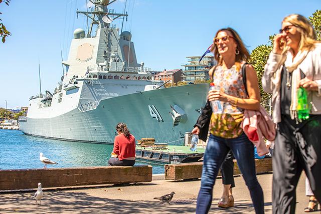 Woolloomooloo Wharf, Sydney