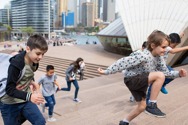 Junior Adventure Tour at Sydney Opera House , photograph y Anna Zhu