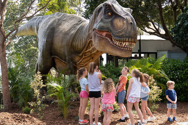 Rise of the Tarongasaurs / Kids in Sydney