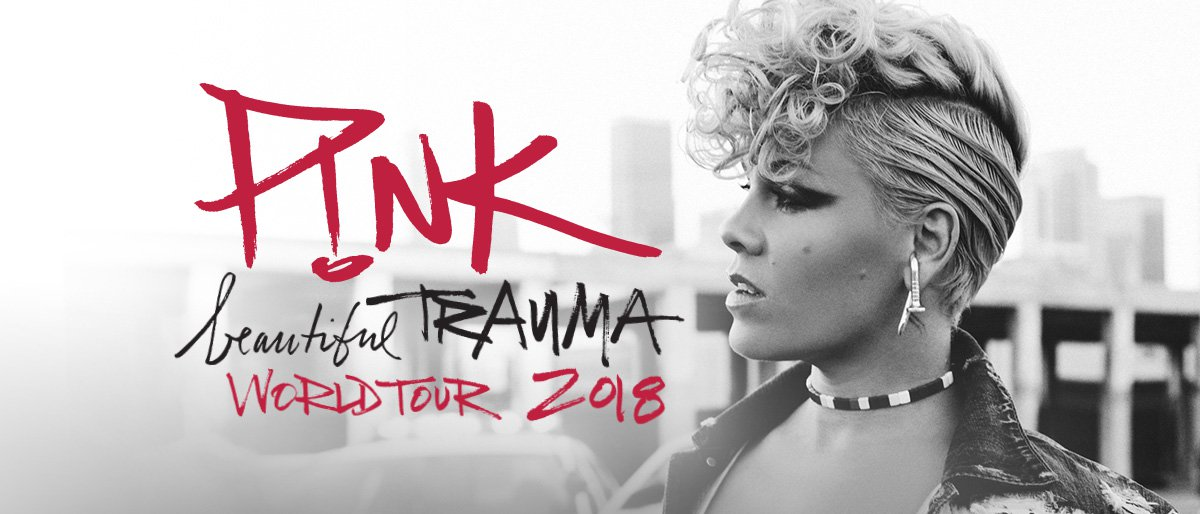 Pink Beautiful Trauma World Tour 2018