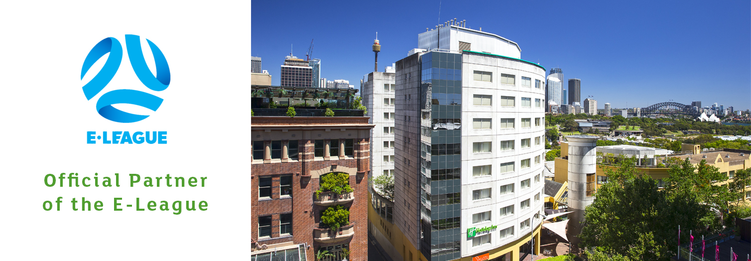 Holiday Inn Potts Point Official Partner of the E League