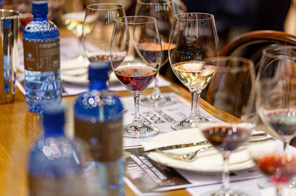 Good Food & Wine Festival rose tasting