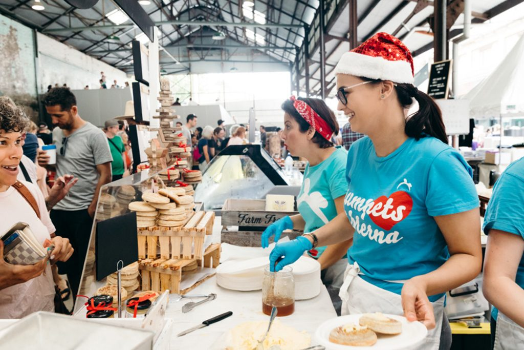 Carriageworks Christmas Farmers Markets