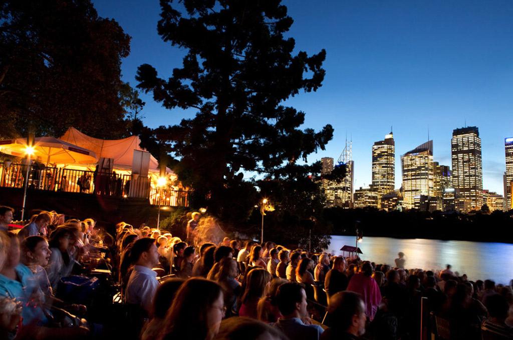 Westpac Open Air Cinema in Sydney