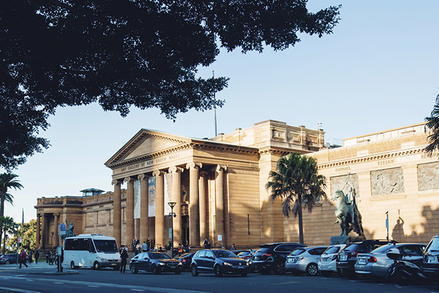 Exterior of the Art Gallery of NSW
