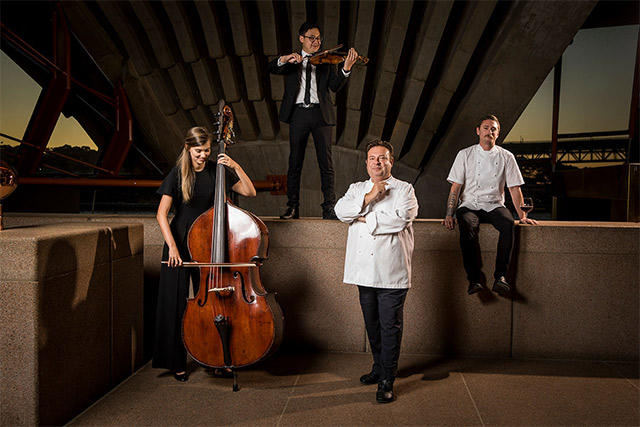 Bennelong-Restaurant, Sydney Operaa House, Australia