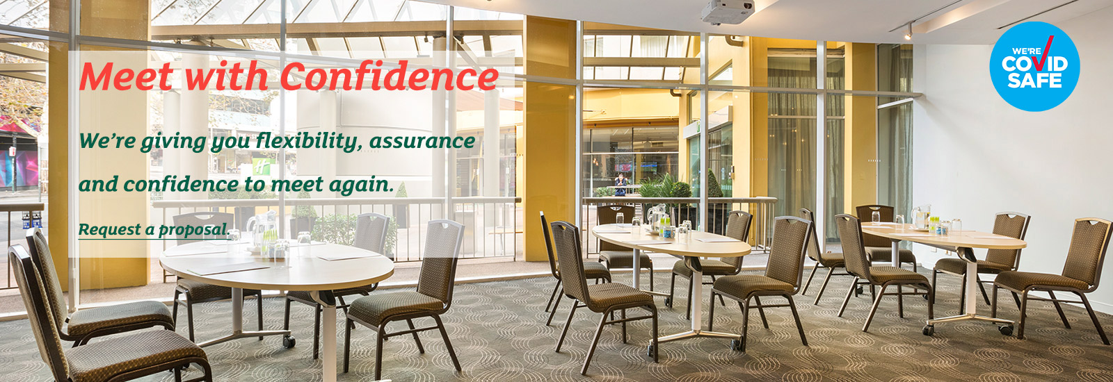 Meet with Confidence at Holiday Inn Potts Point | IHG® Hotels & Resorts